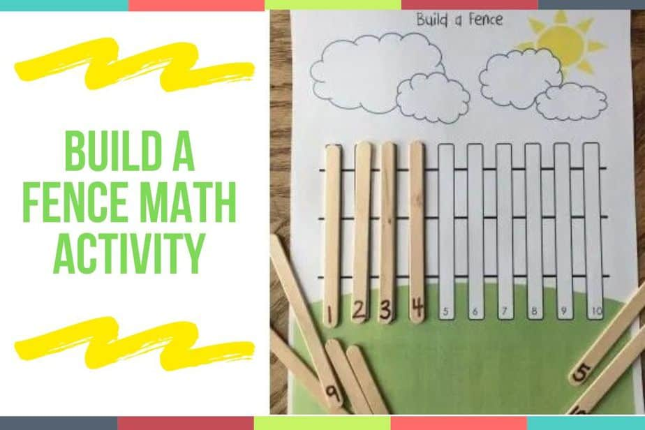Build A Fence Math Activity