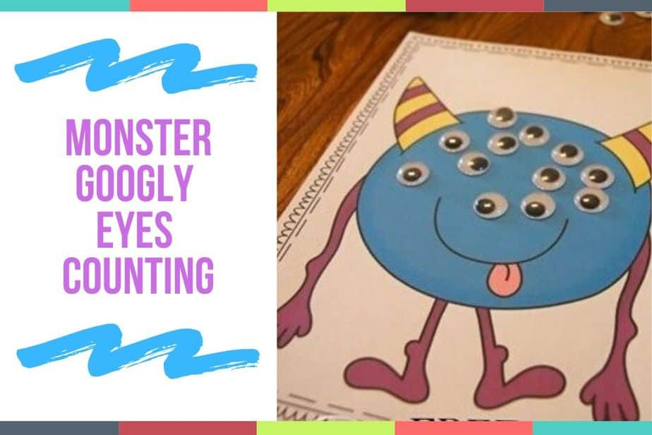 Monster Googly Eyes Counting