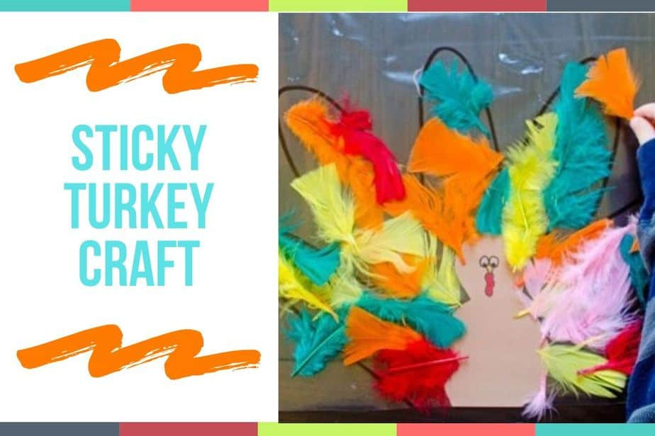 Sticky Turkey Craft