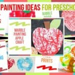 Apple Painting Ideas For Preschoolers