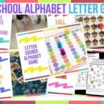Preschool Alphabet Letter Games