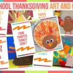 Preschool Thanksgiving Art And Crafts