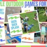 Simple Outdoor Games For Kids