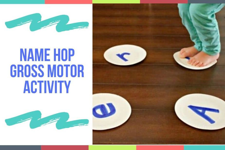 Name Hop Gross Motor Activity