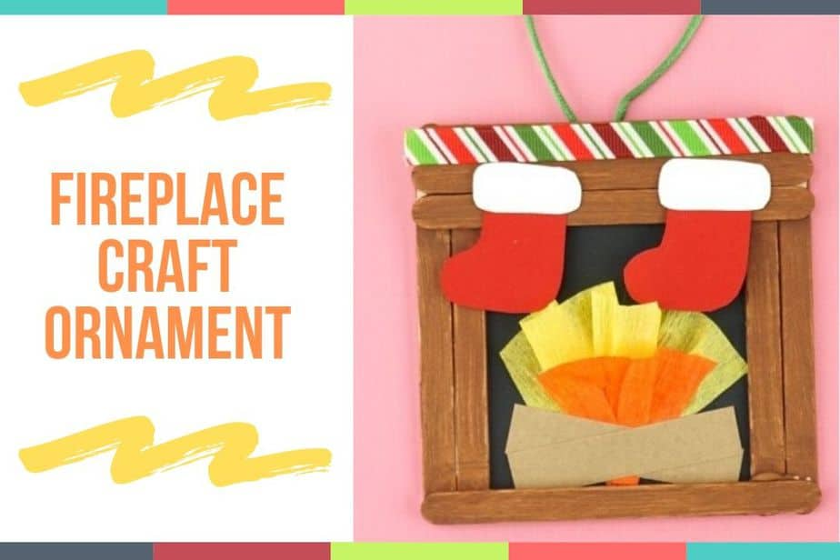 Fireplace Craft Ornament