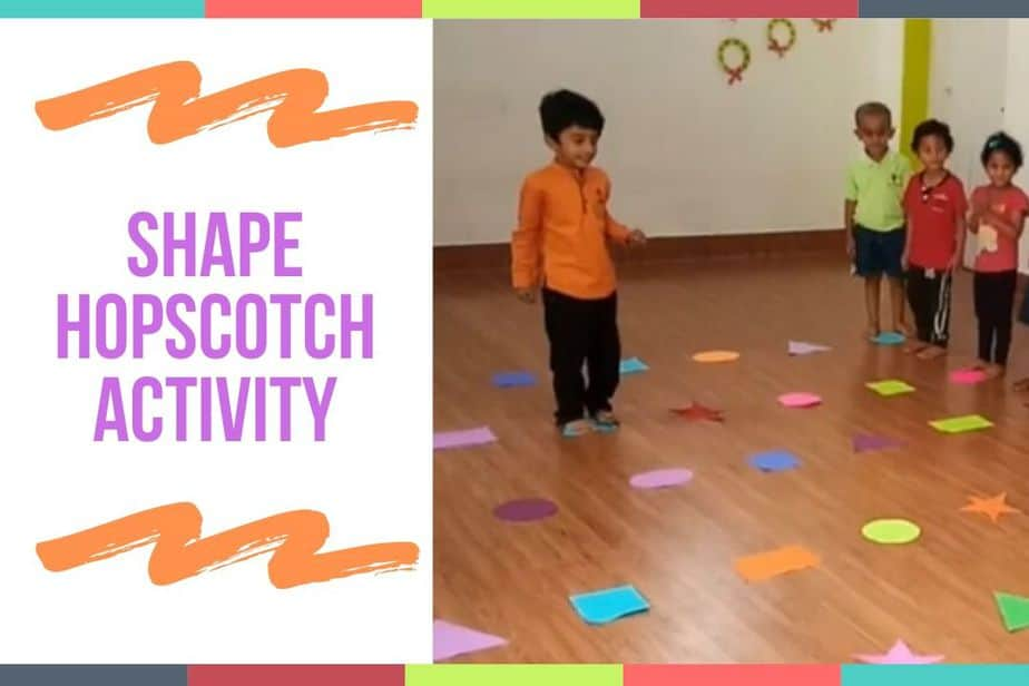 Shape Hopscotch Activity