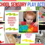 Preschool Sensory Play Activities