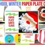 Preschool Winter Paper Plate Crafts