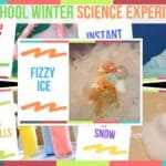 Preschool Winter Science Experiments