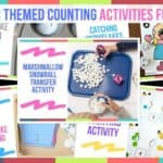 Winter Themed Counting Activities For Kids