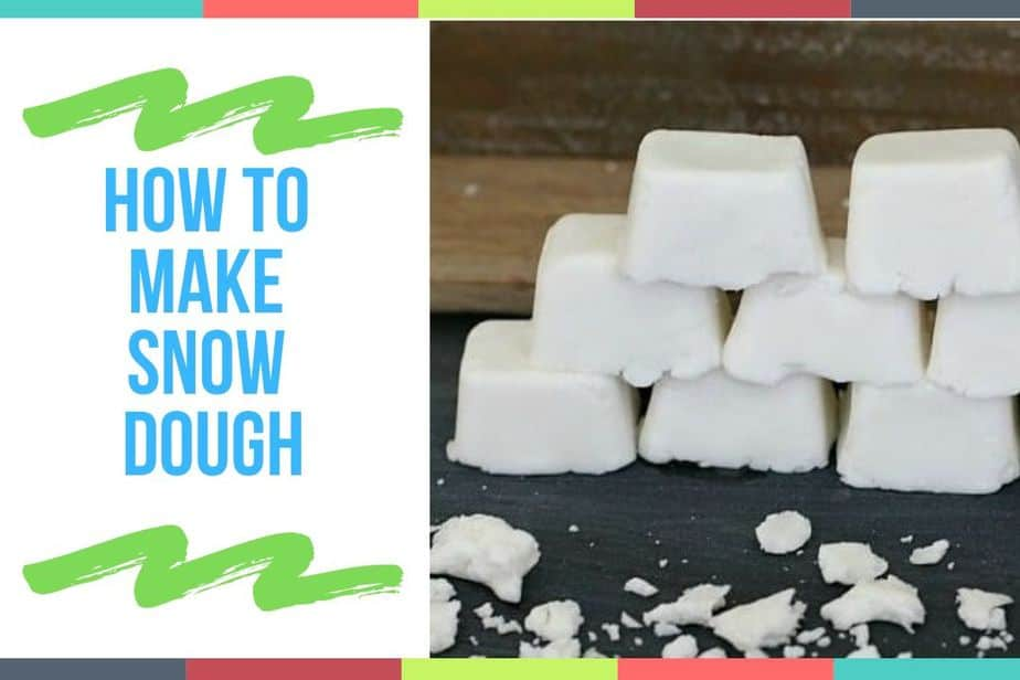 How to Make Snow Dough