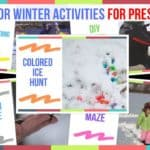Outdoor Winter Activities For Preschool