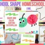 Preschool Shape Homeschool Ideas