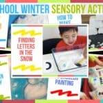 Preschool Winter Sensory Activities