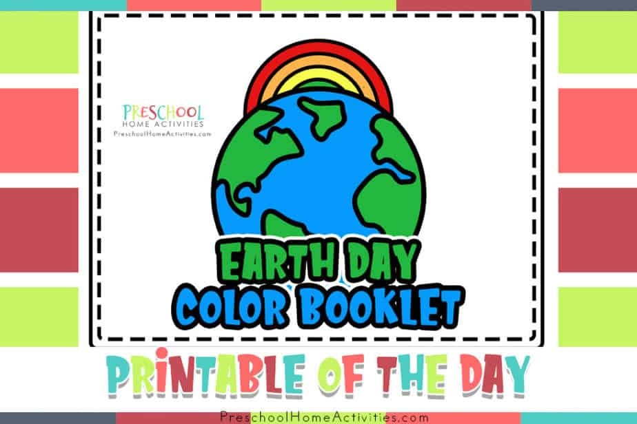 Earth Day Preschool Worksheets