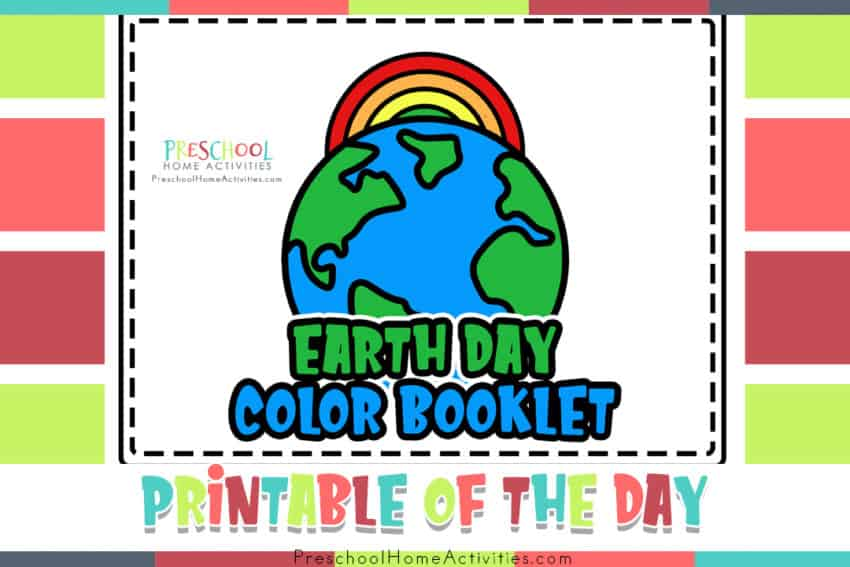 Earth Day Preschool Worksheets