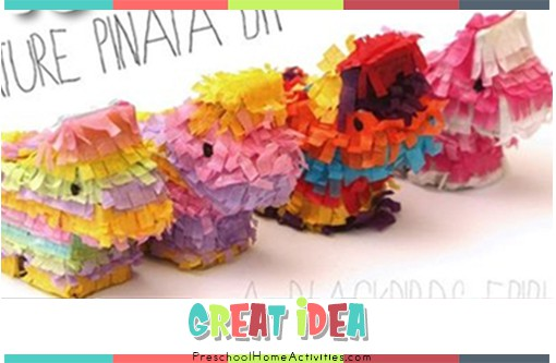 Great Ideas tiny pinatas