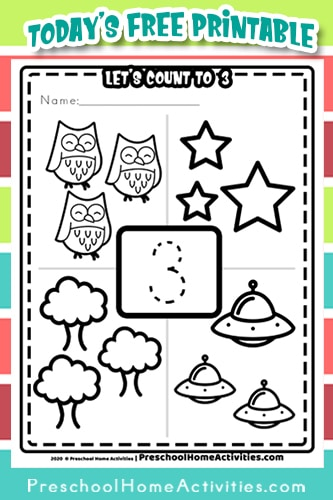Pinterest Number 3 Worksheet