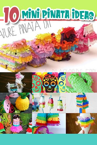 Pinterest tiny pinatas