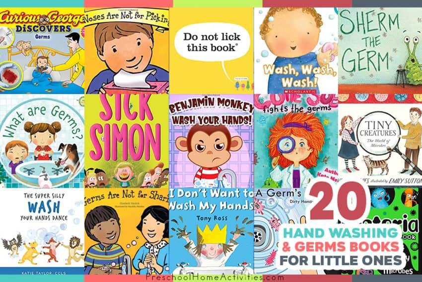 Preschool Books About Washing Hands