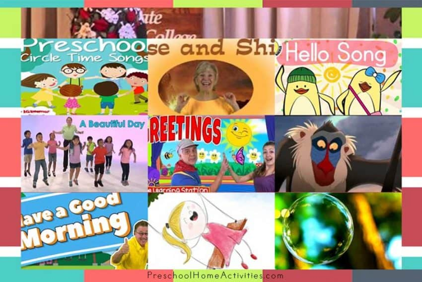 Featured Preschool Morning Songs