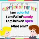 Cinco de Mayo Preschool Question of the Day