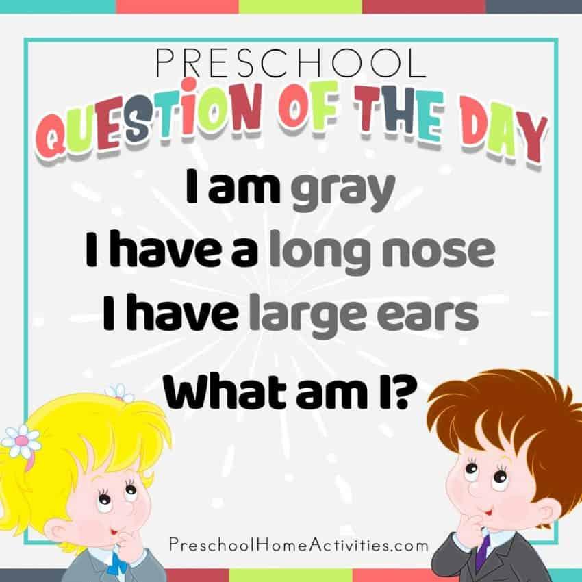 Preschool Riddle