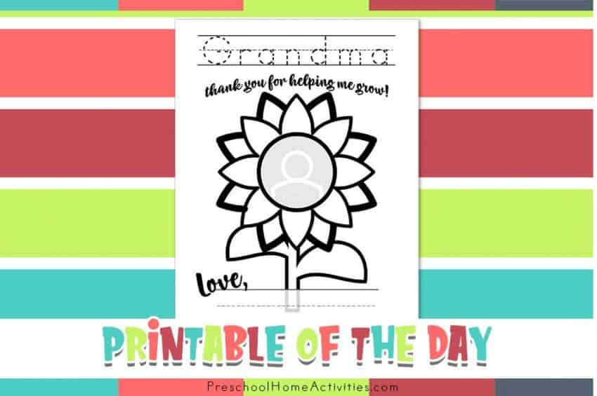 featured Mothers Day Cards for Grandma Printable