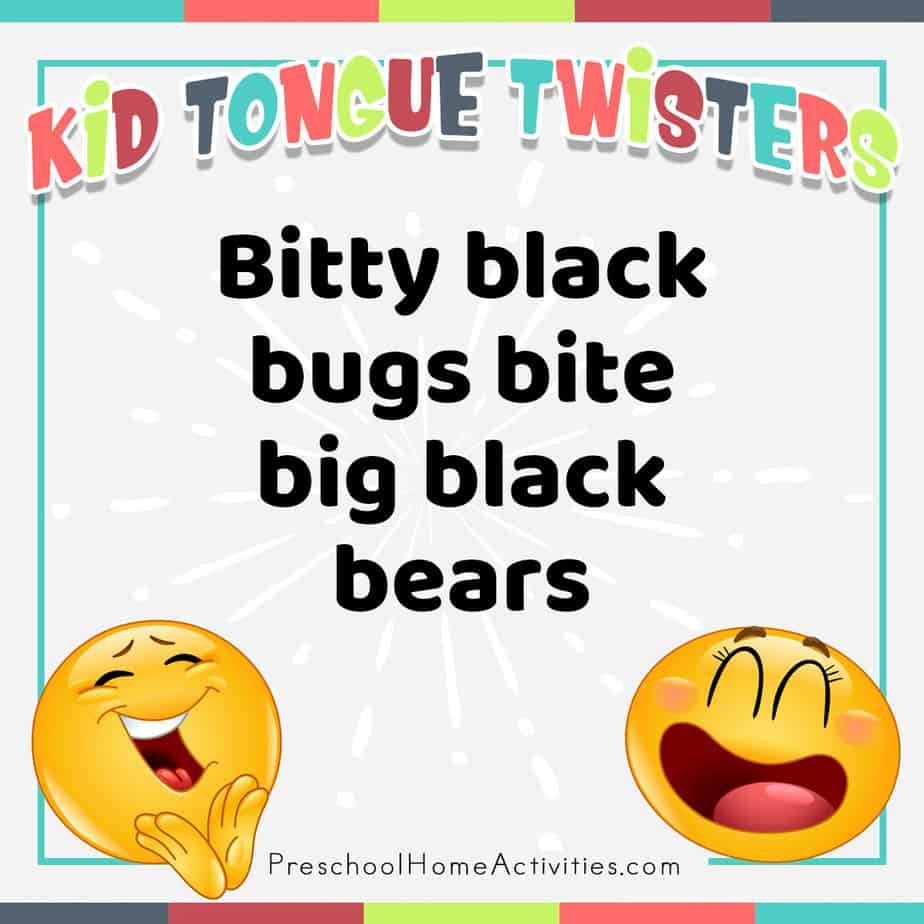 Tongue Twiter Silly Jokes for Preschool