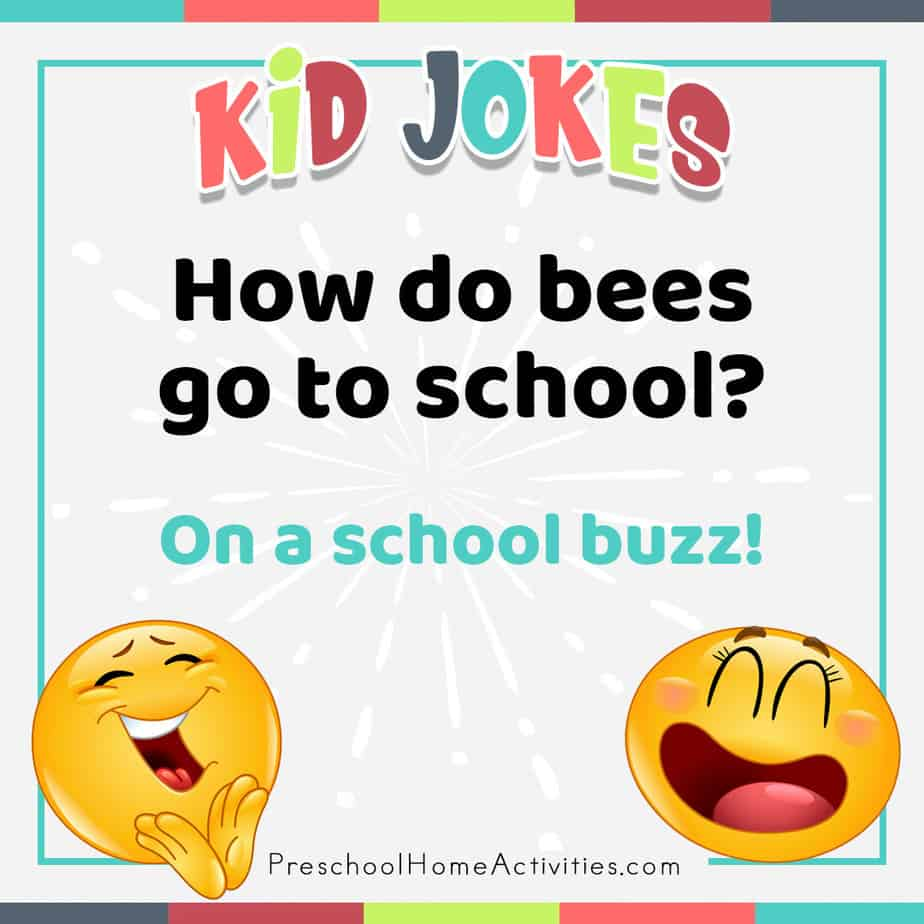 Silly Jokes for Preschoolers Bees