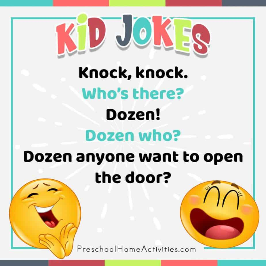 Preschool Dozen Knock Knock Joke