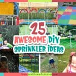 Outdoor Water Play Sprinklers (25 Ideas)