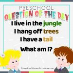 Preschool Animal Riddle