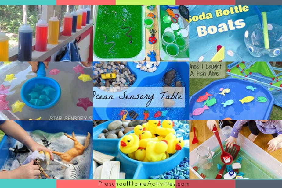 Water Play Ideas for Early Learning