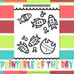 Color Together Father's Day Coloring Page (Two-Sided Coloring Page)