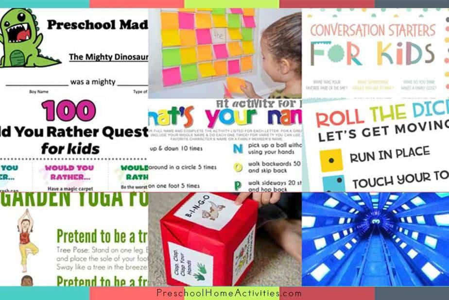 Featured Zoom Activities for Preschoolers