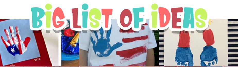 Big List of Fourth of July Handprint Crafts