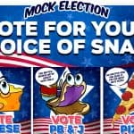 Elections Theme Activities Preschool | Vote for Your Snack