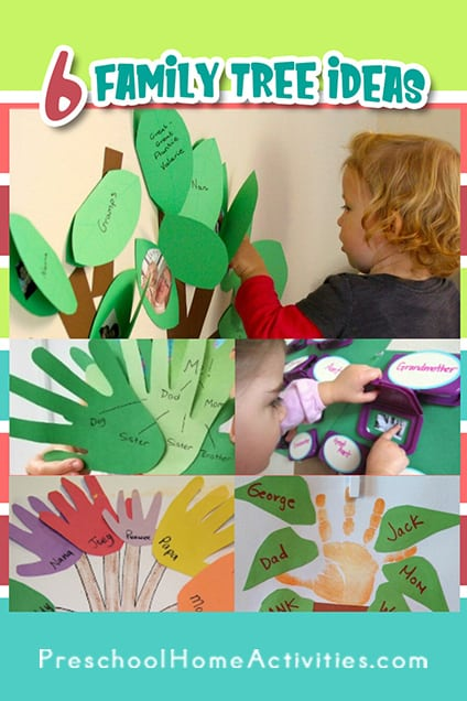 Family Tree Ideas for Kids Preschool Project Pinterest