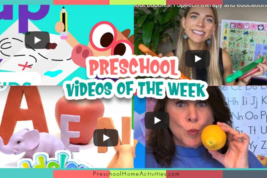 Preschool Videos of the Week Featured