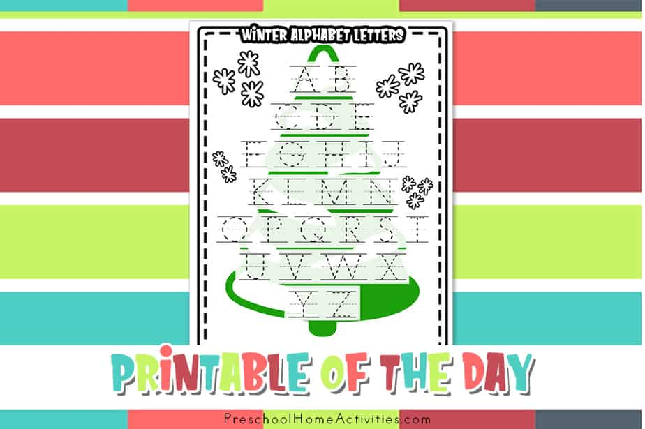 Winter Alphabet Letters Free featured-image