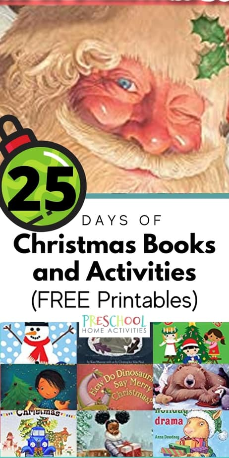 25 Days of Christmas Books and Activities