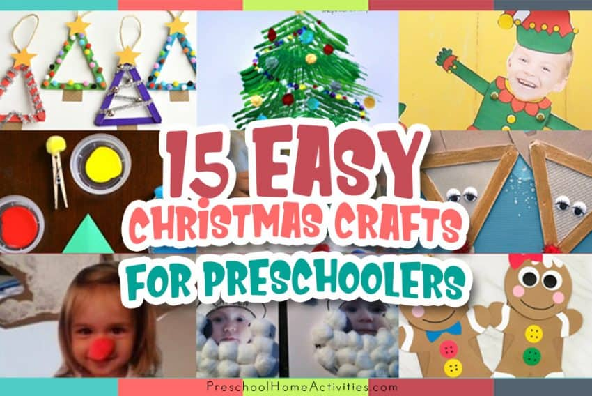 Christmas Crafts For Preschoolers featured_image