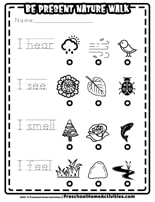 Dec 5 Worksheet 25 Days of Christmas Books and Activities