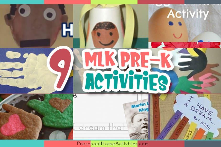 Martin Luther King Jr Preschool Activities