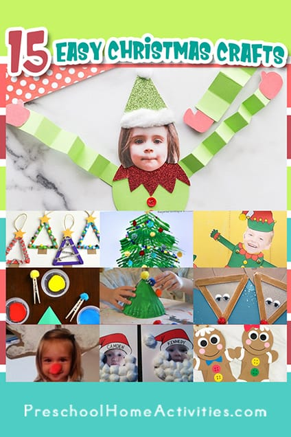 Pin Christmas Crafts For Preschoolers