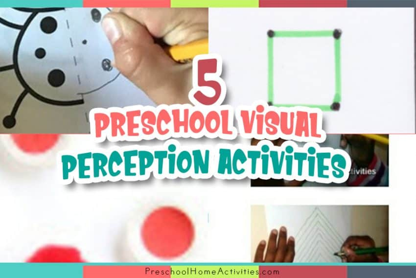 Preschool Visual Perception Activities featured_image
