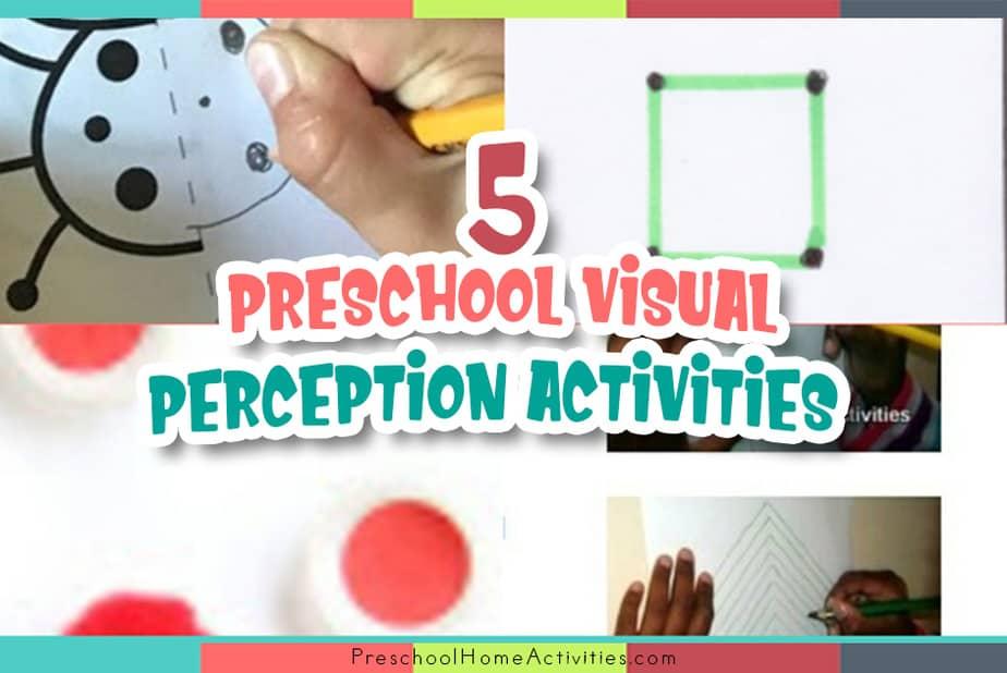 Preschool Visual Perception Activities featured_image