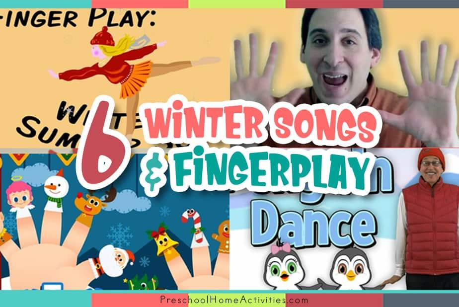 Preschool Winter Songs and Fingerplays